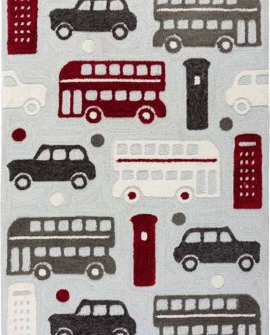 Dětský koberec Flair Rugs City Buzz, 80 x 120 cm