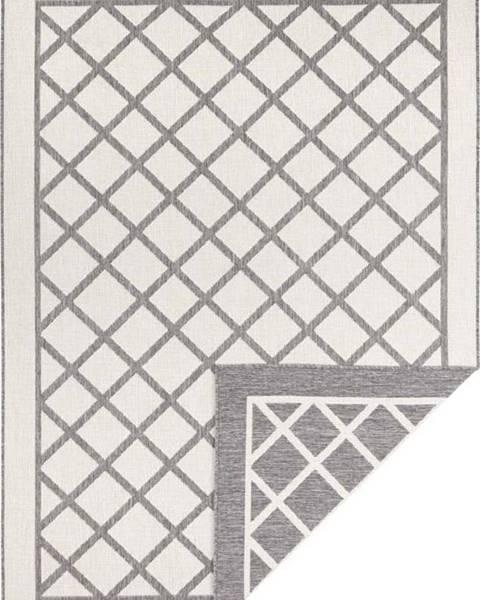 Bougari Šedo-krémový venkovní koberec Bougari Sydney, 170 x 120 cm