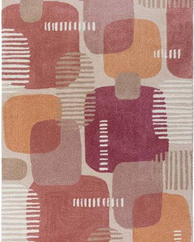 Šedo-růžový koberec Flair Rugs Pop, 160 x 230 cm