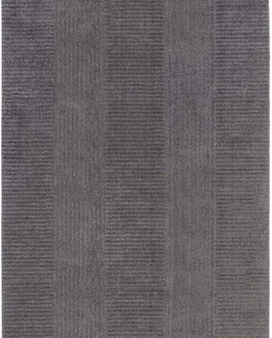Tmavě šedý koberec Flair Rugs Kara, 120 x 170 cm