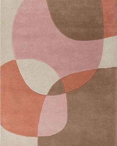 Vlněný koberec Flair Rugs Glow, 120 x 170 cm