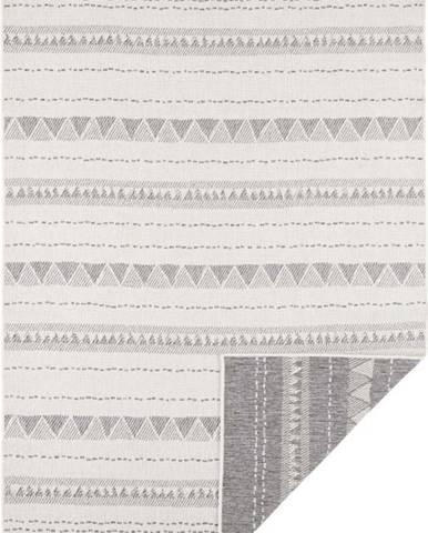 Šedo-krémový venkovní koberec Bougari Bahamas, 120 x 170 cm