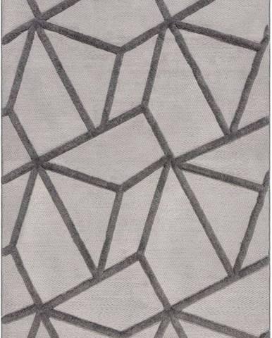 Šedý koberec Flair Rugs Safi, 160 x 230 cm