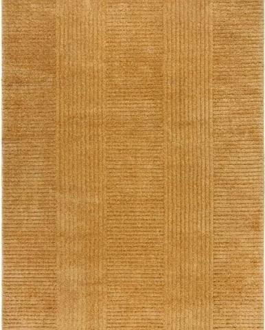 Žlutý koberec Flair Rugs Kara, 160 x 230 cm