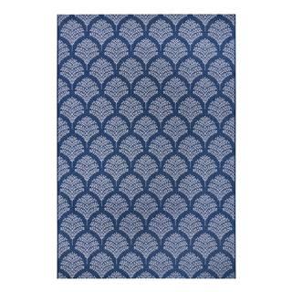 Modrý venkovní koberec Ragami Moscow, 160 x 230 cm