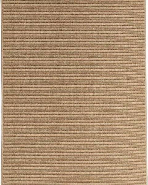 Floorita Světle hnědý venkovní koberec Floorita Plain, 160 x 230 cm