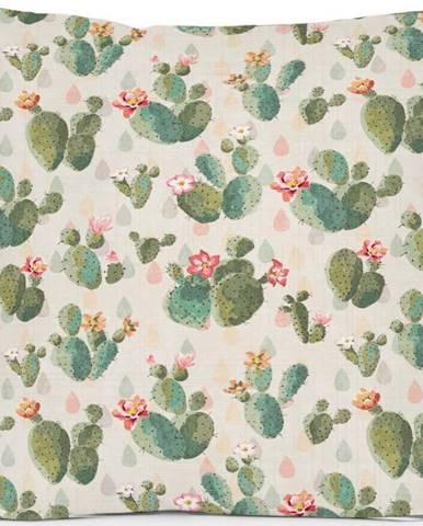 Polštář Little Nice Things Cactus, 45 x 45 cm