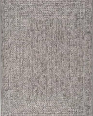 Šedý venkovní koberec Universal Jaipur Berro, 80 x 150 cm
