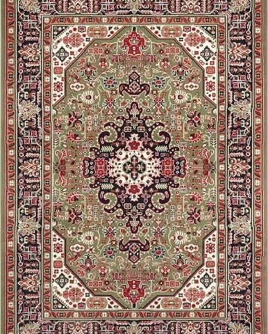 Zelený koberec Nouristan Skazar Isfahan, 200 x 290 cm