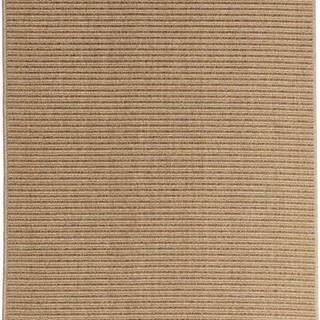 Světle hnědý venkovní koberec Floorita Plain, 160 x 230 cm
