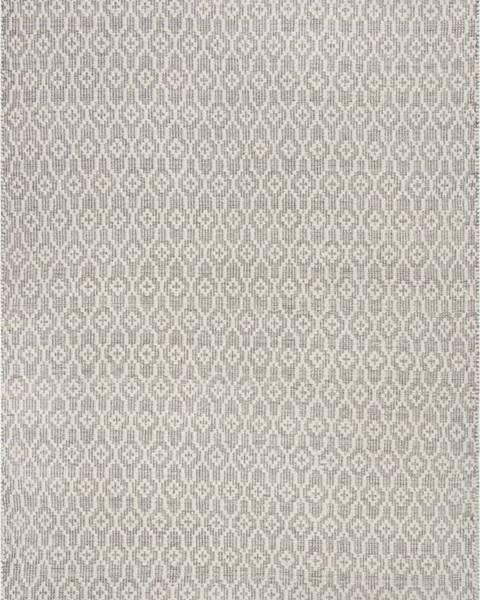 Flair Rugs Šedo-béžový vlněný koberec Flair Rugs Dream, 80 x 150 cm