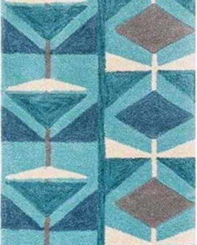 Modrý běhoun Flair Rugs Kodiac, 60 x 230 cm