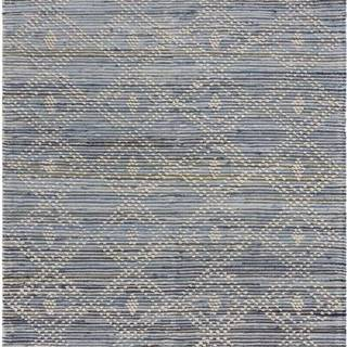 Modrý bavlněný koberec Flair Rugs Lissie, 120 x 170 cm