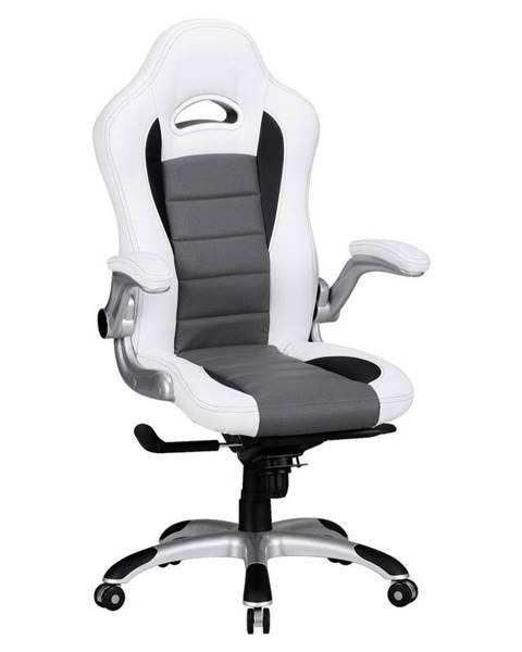 Möbelix Herní Židle Racing Bílá