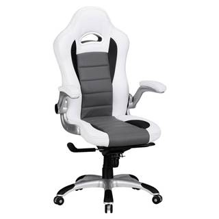 Herní Židle Racing Bílá