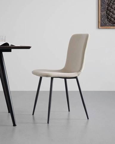 Moderní Jídelní Židle Elif Béžová