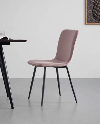 Moderní Židle Elif Růžová