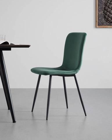 Moderní Židle Elif Zelená