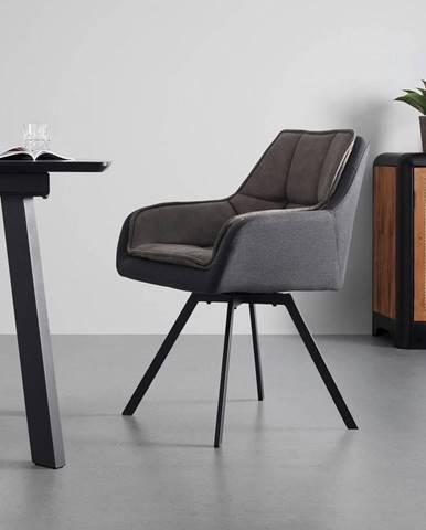Pohodlná Židle Billy Tmavěšedá