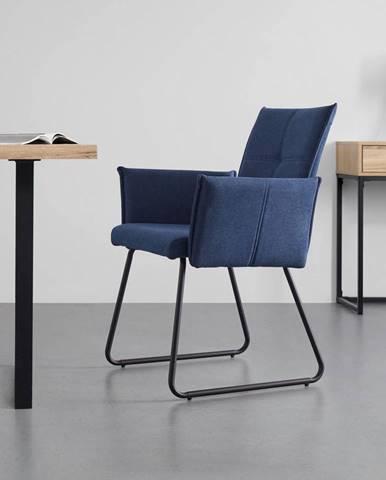 Pohodlná Židle Manila Modrá