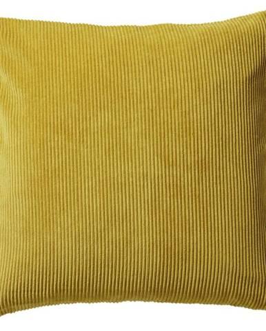 Povlak Na Polštář Mary Cord, 40/40cm, Žlutá