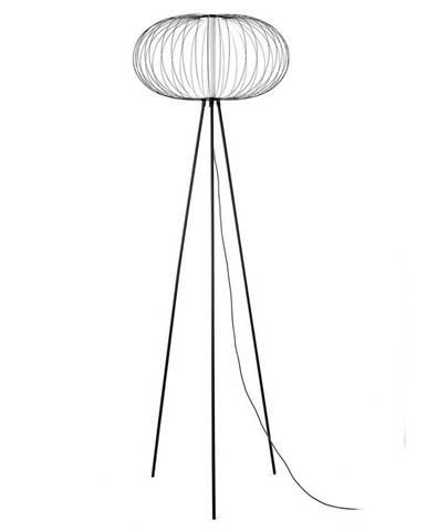 Led-stojací Lampa Amos Černá
