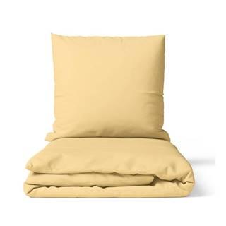 Posteľná Bielizeň Premium Žltá