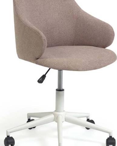 Světle růžová kancelářské židle La Forma Einara