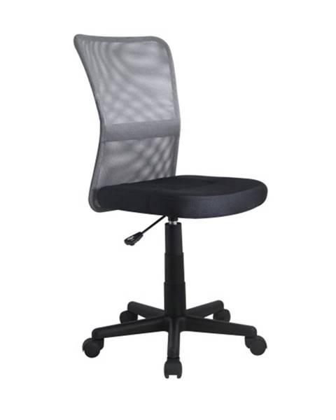 Smartshop Dětská židle DINGO, šedá/černá