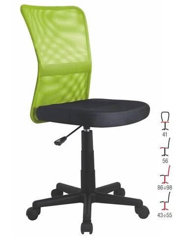 Dětská židle DINGO, zelená