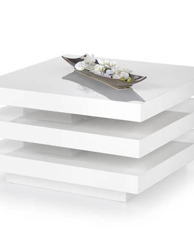 Konferenční stolek INGRID, bílý lesk