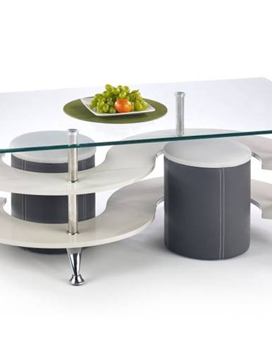 Konferenční stolek NINA 5, šedý