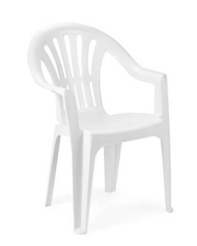 Židle KONA, bílá