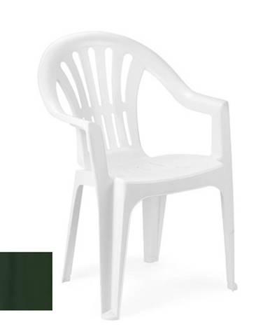 Židle nízká KONA, zelená