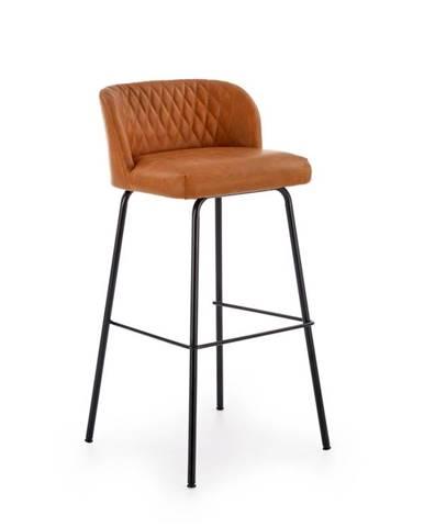 Barová židle H-92, světle hnědá
