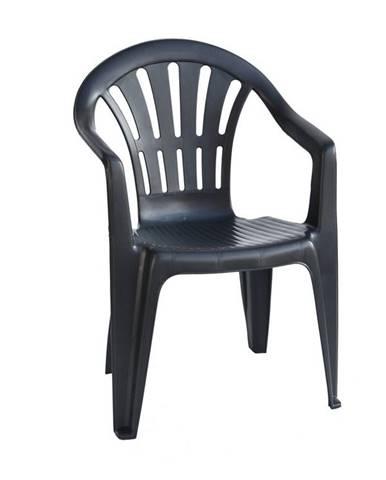Židle nízká KONA, antracit