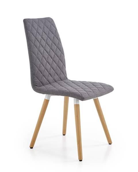 Smartshop Jídelní židle K-282, šedá