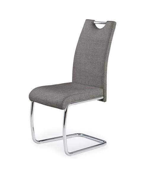 Smartshop Jídelní židle K-349, šedá