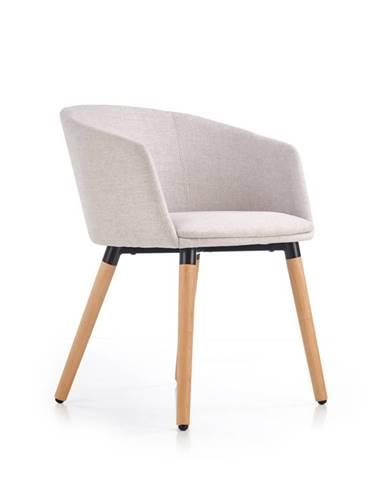 Jídelní židle K-266, béžová