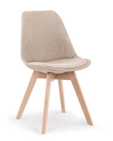 Jídelní židle K-303, béžová