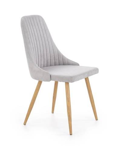 Židle K-285, světle šedá