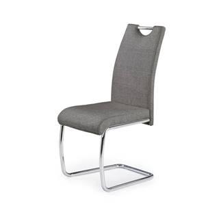 Jídelní židle K-349, šedá