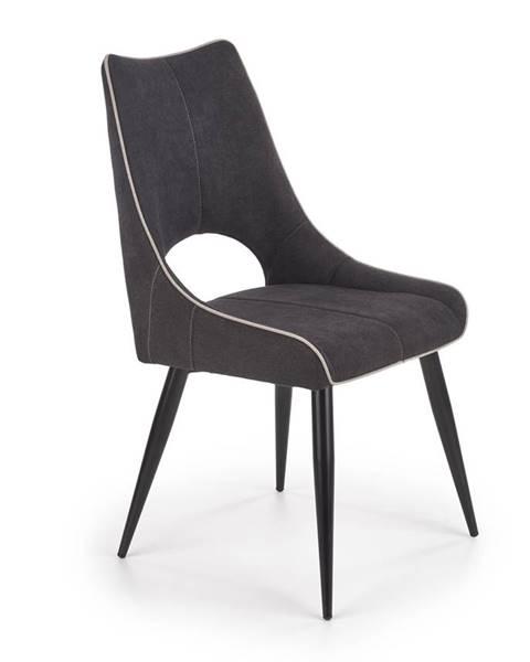Smartshop Jídelní židle K-369, tmavě šedá
