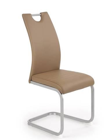 Jídelní židle K-371, hnědá