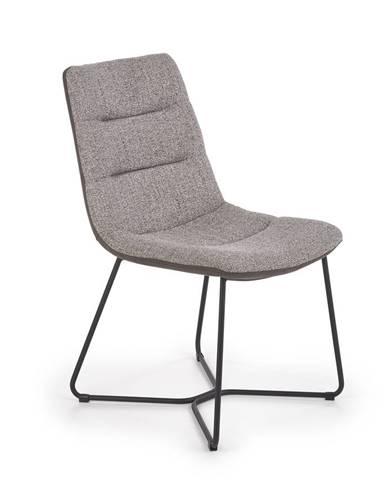Jídelní židle K-403, šedá