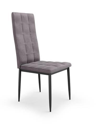 Jídelní židle K-415, šedá