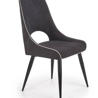Jídelní židle K-369, tmavě šedá