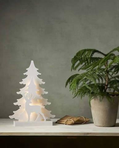 Bílá vánoční světelná LED dekorace Star Trading Grandy