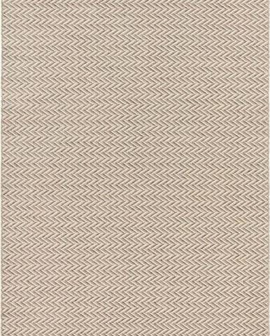 Krémový koberec vhodný i na ven Elle Decoration Brave Caen, 160 x 230 cm
