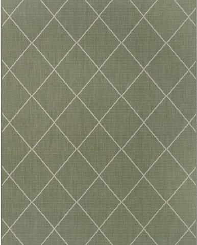 Zelený venkovní koberec Ragami London, 200 x 290 cm